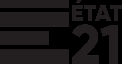 Logo d'État 21 - noir